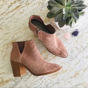 1. State Laser Cut Ankle Booties